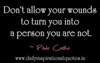 don't allow your wounds